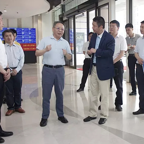 Governor Shen Xiaoming inspected the Hainan Cancer Hospital